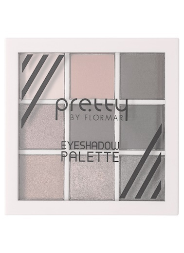 Flormar Pretty By Flormar Eyeshadow Palette 03 Fire Renkli